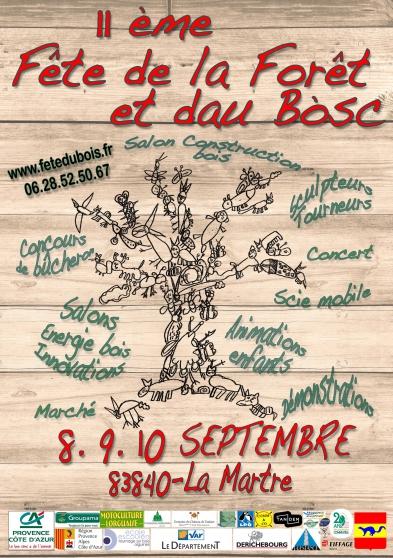 Annonce occasion, vente ou achat '11ème Fête de la Forêt et du Bois'