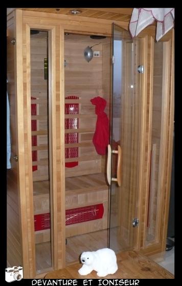 Sauna deux places