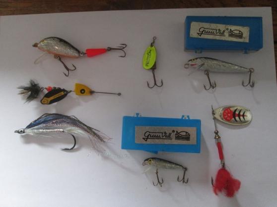 Annonce occasion, vente ou achat 'lot de cuillères de pêche'