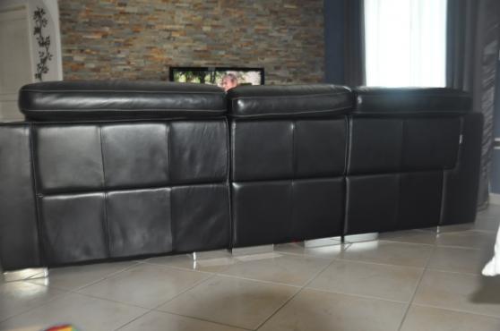 canapé cuir relax electrique - Photo 2