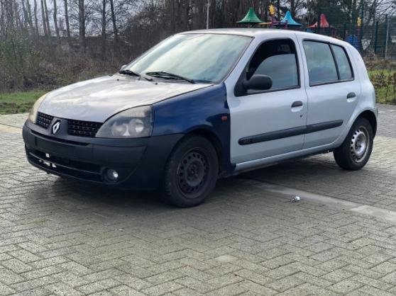Annonce occasion, vente ou achat 'Renault Clio 2002'
