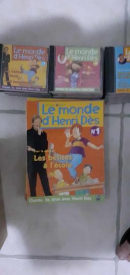 Annonce occasion, vente ou achat 'collection Henri Dès en 30 CD et livres'