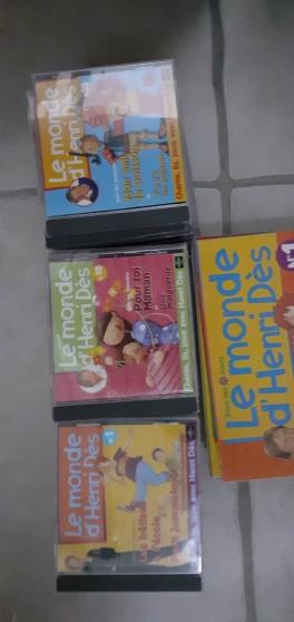 collection Henri Dès en 30 CD et livres - Photo 2