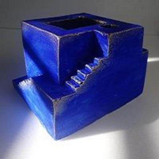 Annonce occasion, vente ou achat 'Porte crayon desktop bureau bleu'