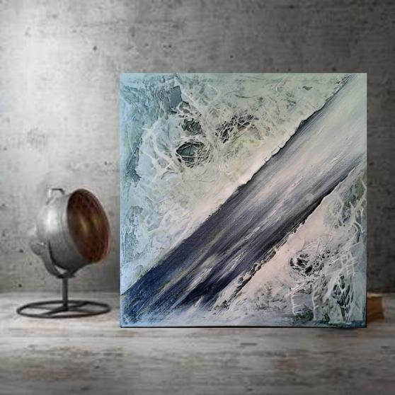 Annonce occasion, vente ou achat 'Tableau peinture abstrait constellation'