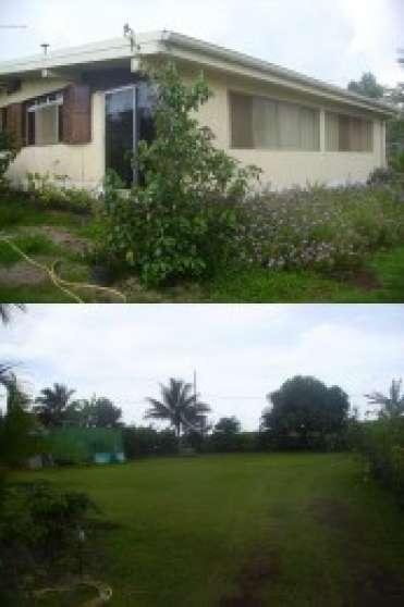 Vend maison tahiti presqu 39 le tahiti immobilier a for Achat maison tahiti