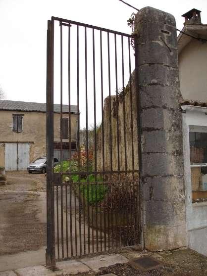 Portail fer plein 2 vantaux buzet sur ba se jardin for Petit portail fer