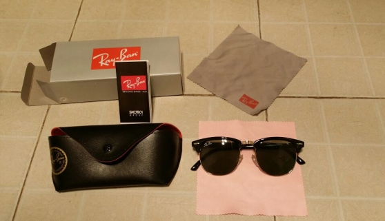 lunettes de soleil RAY BAN CLUBMASTER RB