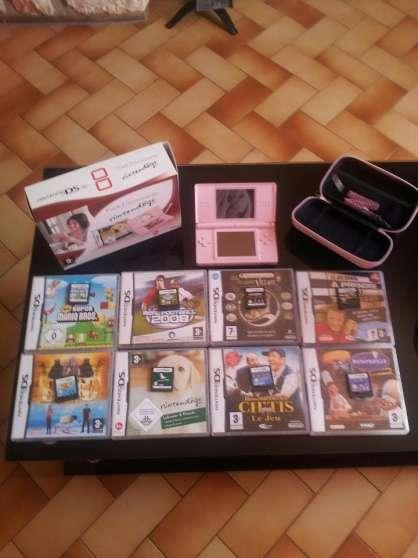 ds rose+jeux+accessoires