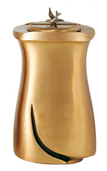 Urne funéraire en bronze pour les cendre