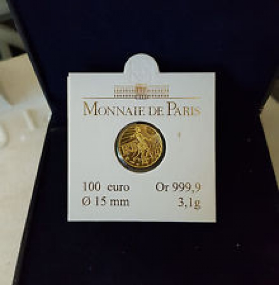 Pièce 100 euros or 2008