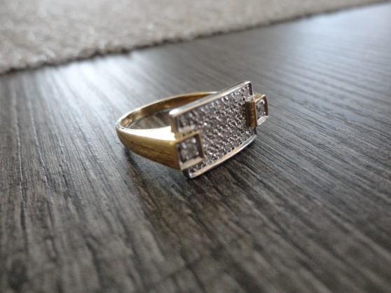 Annonce occasion, vente ou achat 'bague en or et diamant'