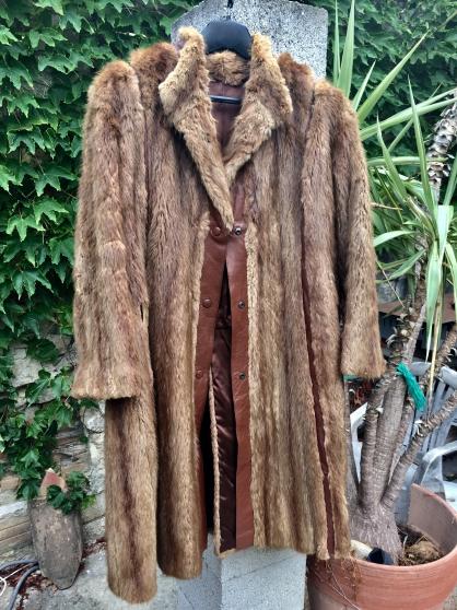 Manteau fourrure en vison
