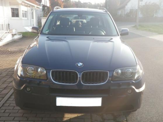 Annonce occasion, vente ou achat 'BMW X3'