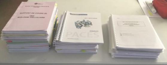 Annonce occasion, vente ou achat 'PACK Concours médecine Paris V Descartes'