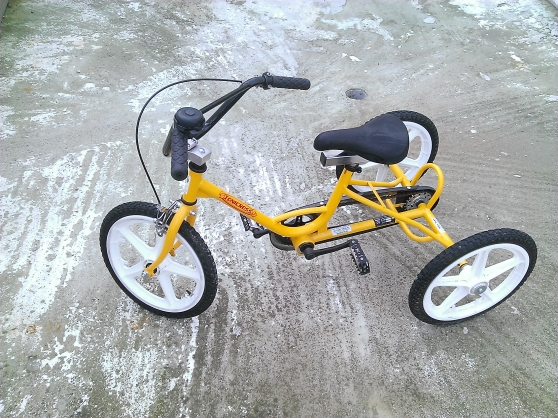 Tricycle orthopédique Tonicross Basic T2 - Photo 2