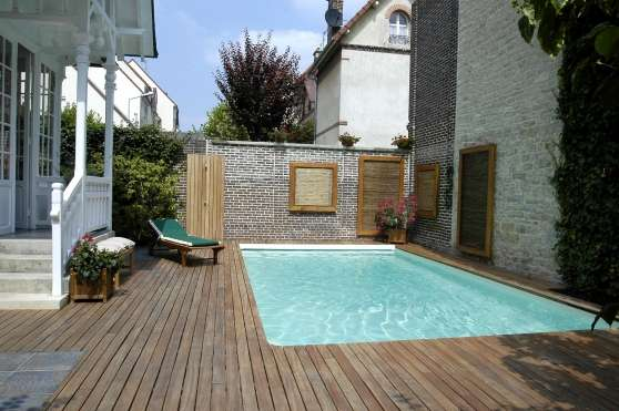 Piscine 6x3 en kit b ton albi jardin nature piscine for Prix piscine 6x3