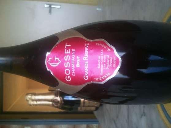 Annonce occasion, vente ou achat 'champagne brut gosset'