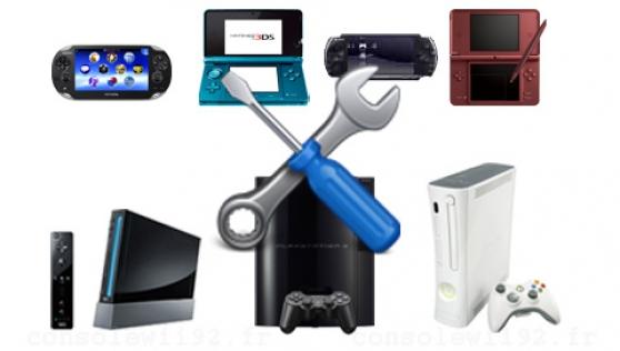 Reparation console de jeux