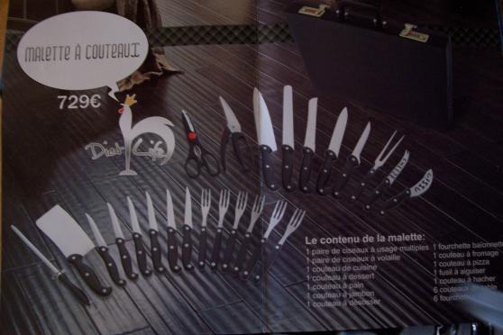 malette couteaux neuve