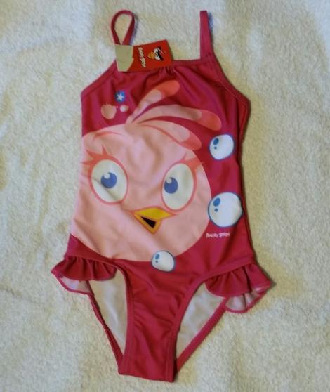 Mignon petit maillot de bain fillette