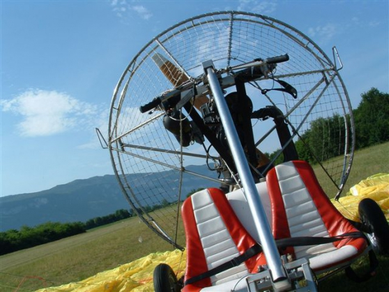Chariot paramoteur biplace - Photo 2