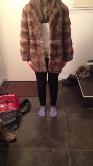 Petite veste vison