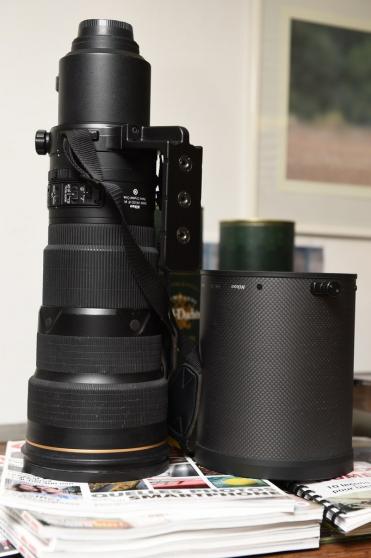 Nikon 500mm f/4 ED VR II - Tres peu serv