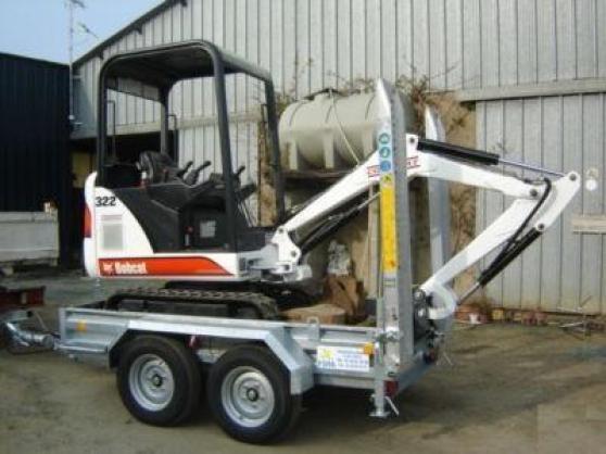 Annonce occasion, vente ou achat 'machine agricole bobcat X322'
