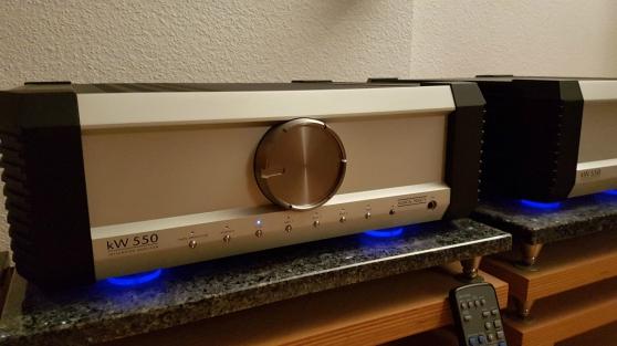 Amplificateur Musical Fidelity KW 550,tu - Photo 2