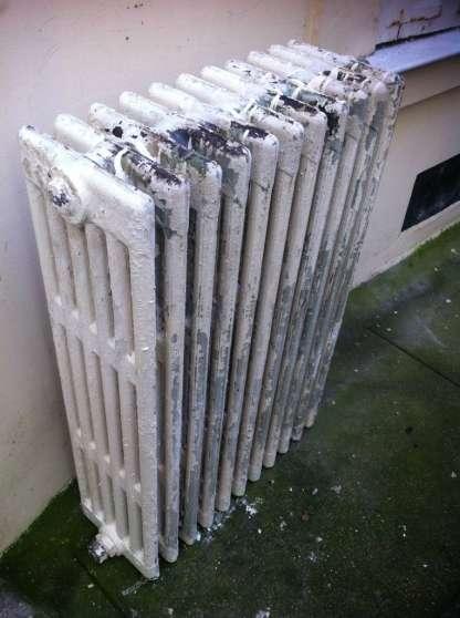 vends radiateurs anciens en fonte 5 élém à paris - Annonce gratuite marche.fr