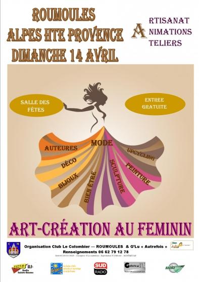 art-creation au feminin - Annonce gratuite marche.fr