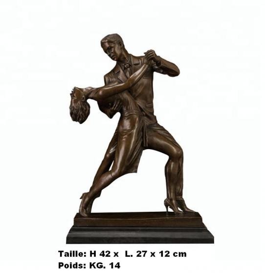 Petite Annonce : Sculpture  couple de danseurs - Sculpture \'\' Couple de danseurs  \'\' en bronze de haute qualité