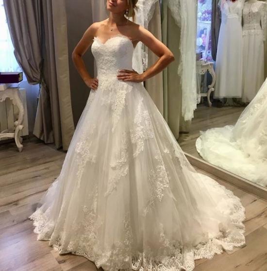 location d'une robe de mariée princesse