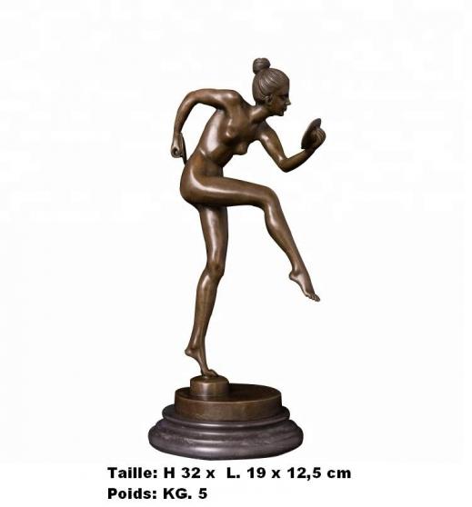 Petite Annonce : Sculpture bonne performance di p.gaso - Sculpture \'\' Bonne performance di P.Gaso  \'\'  en bronze de haute