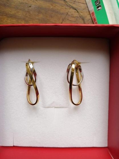 A vendre boucles d'oreilles