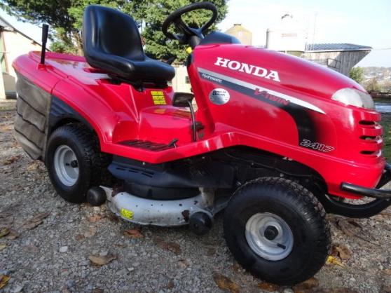 tracteur de pelouse honda hf 2417 - Annonce gratuite marche.fr