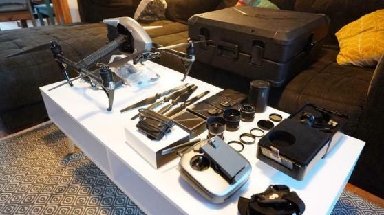 Annonce occasion, vente ou achat 'Drone Dji Inspire 2 - modèle Dng Prores'