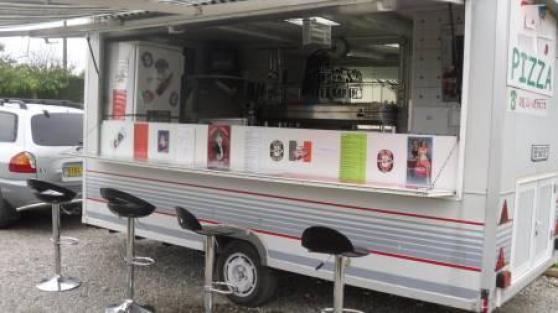 Camion Four à gaz morice 4 pizza 33 cm