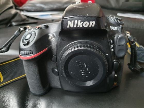 Nikon D800 boîtier nu