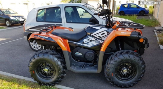Quad CF Moto 520 cc 4X4