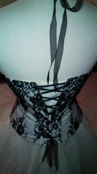 Location de robe de mariée noire - Photo 3