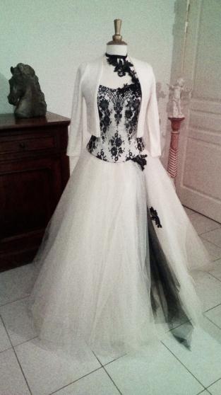 Location de robe de mariée noire - Photo 4