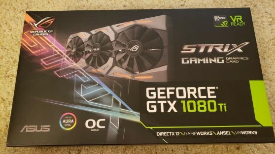 ASUS ROG STRIX GeForce GTX 1080 TI 11 Go