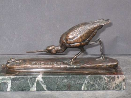 Sculpture en bronze-Fremiet-animalier