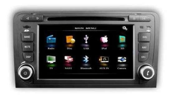 Audi A3 8P, Autoradio GPS Tactile