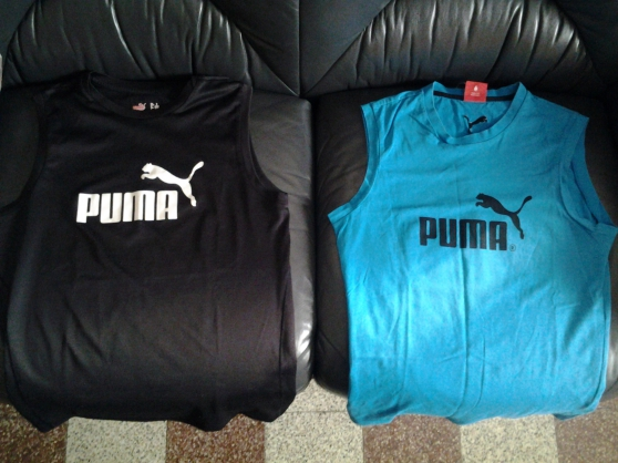 Annonce occasion, vente ou achat 'maillots sans manches NIKE, PUMA, ADIDAS'