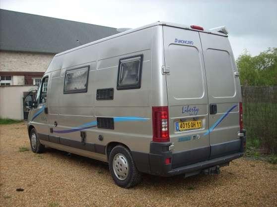 vends fourgon am nag moncayo caravanes camping car. Black Bedroom Furniture Sets. Home Design Ideas