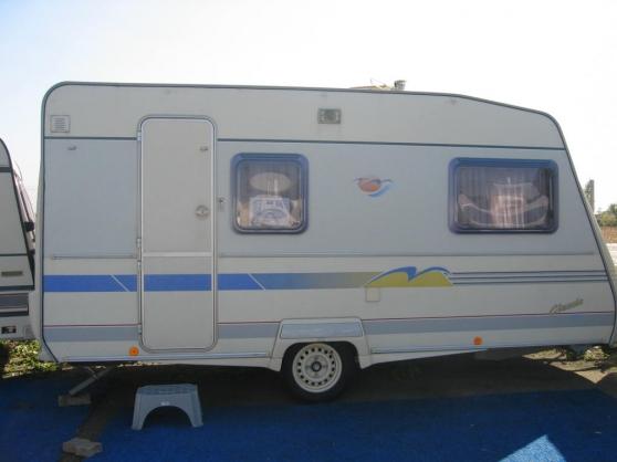 caravane Gruau 4 places année 2000