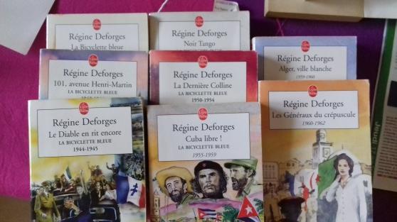 """8 livres de poche """"la bicyclette bleue"""" - Annonce gratuite marche.fr"""